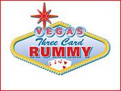 Vegas Three Card Rummy